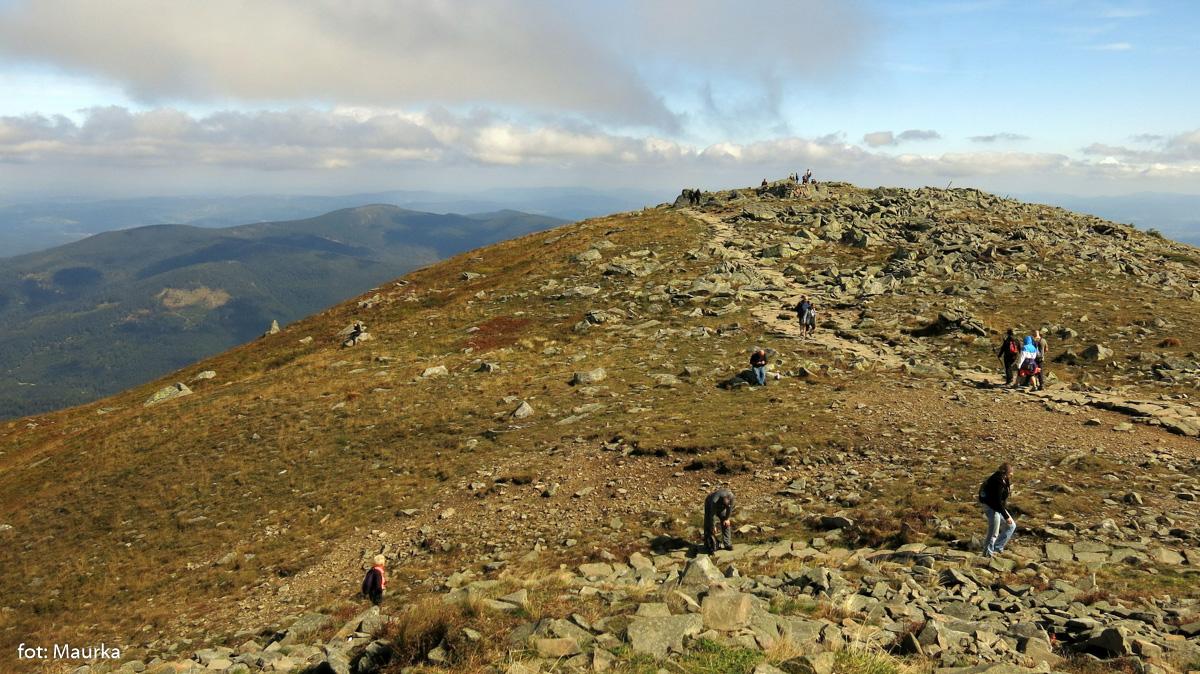 Kamienisty szczyt Diablaka
