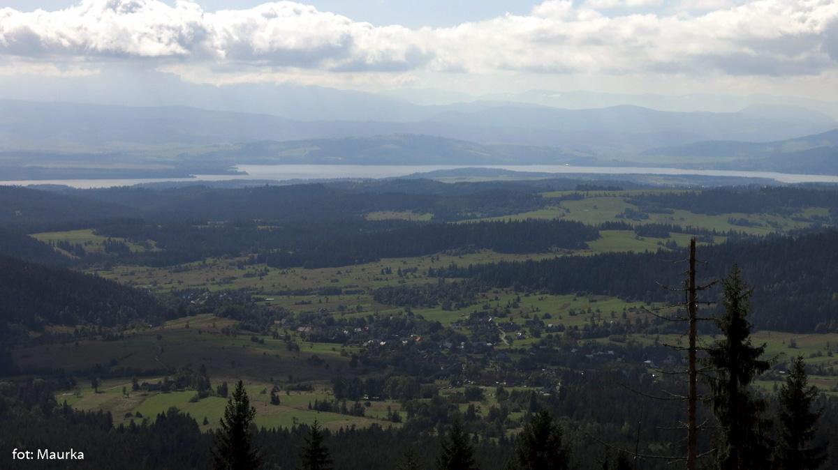 Widok na Jezioro Orawskie