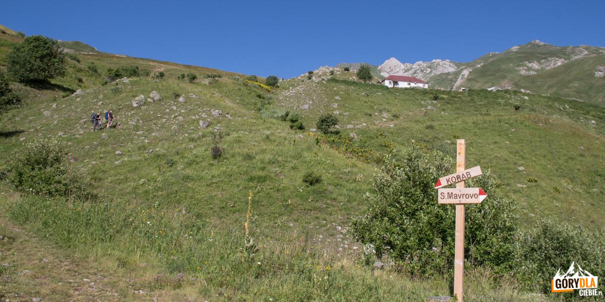 Dalej już tylko ściezką, podejście do osady pasterskiej
