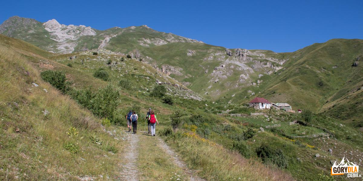 Fragment drogi do osady pasterskiej