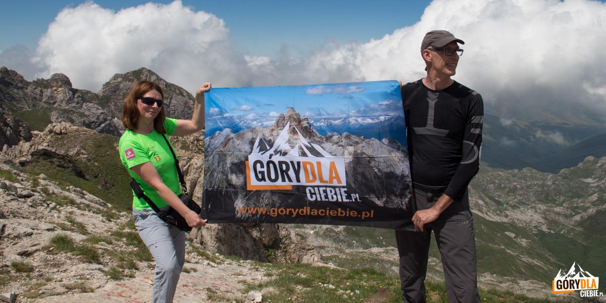 Nasza ekipa na szczycie Korabu (2764 m)