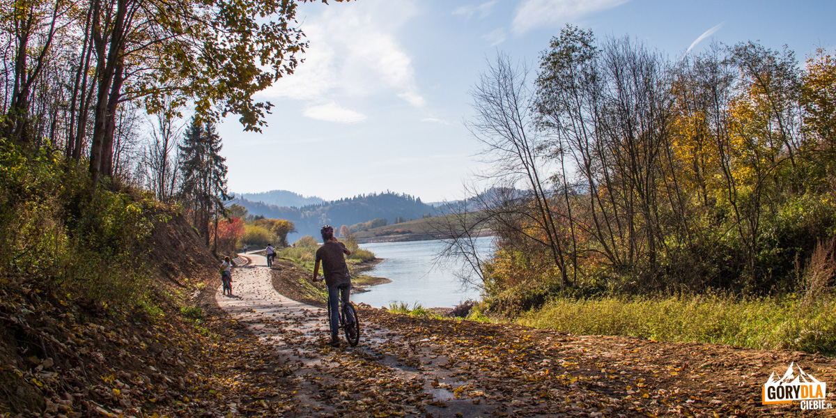 Droga rowerowa Czorsztyn