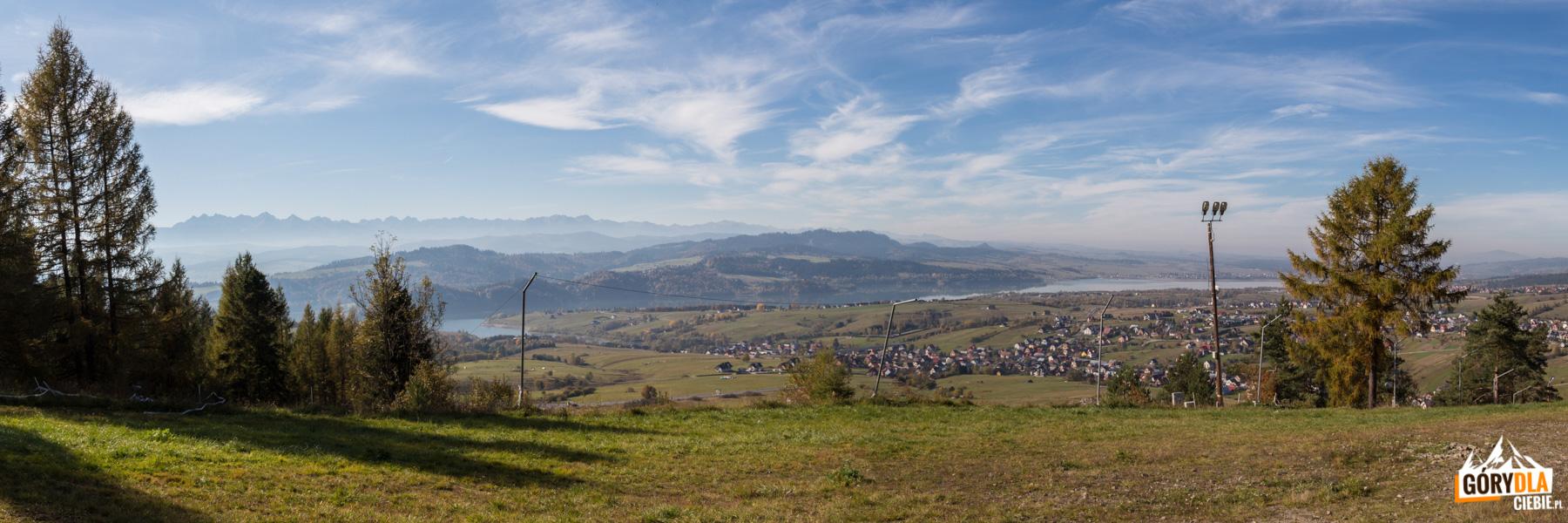 Panorama z Góry Wdżar