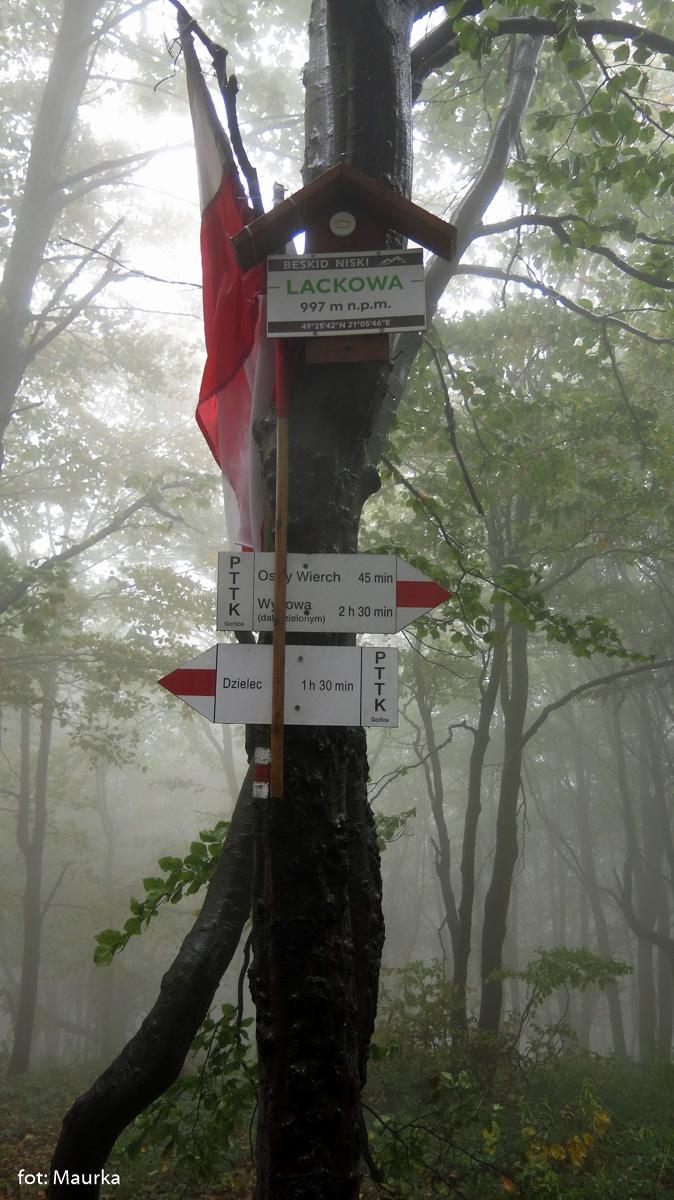 Lackowa (997 m)
