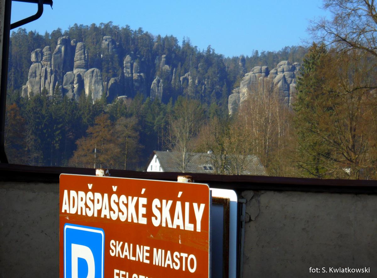 Adrspach Skalne Miasto w Czechach, zdj. Sebastian Kwiatkowski