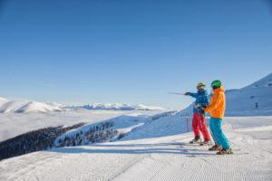 Skifahren Panorama © BRM - Mathias Praegant