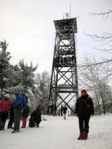 Wieża widokowa na Mogielicy, zdj. Maurka