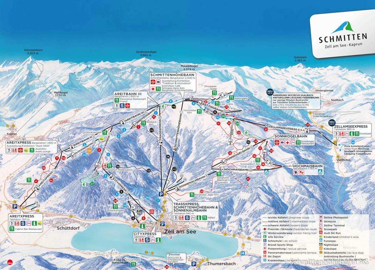 Schmitten - mapa interaktywna