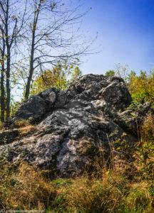 Diabelski Kamień na Klonówce
