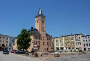 Rynek w Radkowie, zdj. warusek