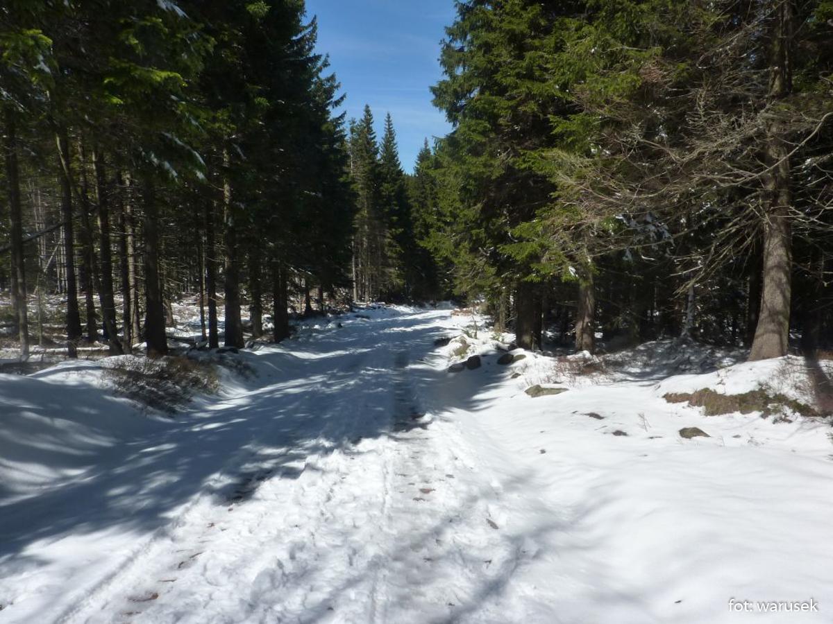 Wiosenno-zimowe Karkonosze
