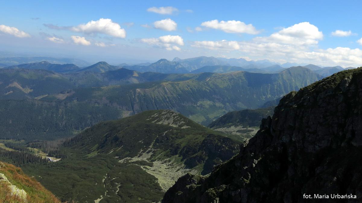 Widok z Salatyna (2048 m)