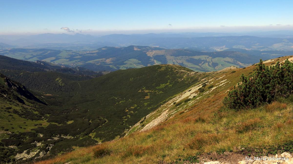 Panoramy z drogi na Salatyn (2048 m)