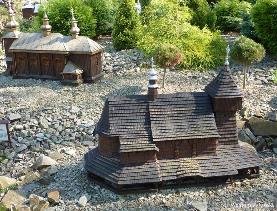 Park Miniatur Świątyń w Myczkowcach