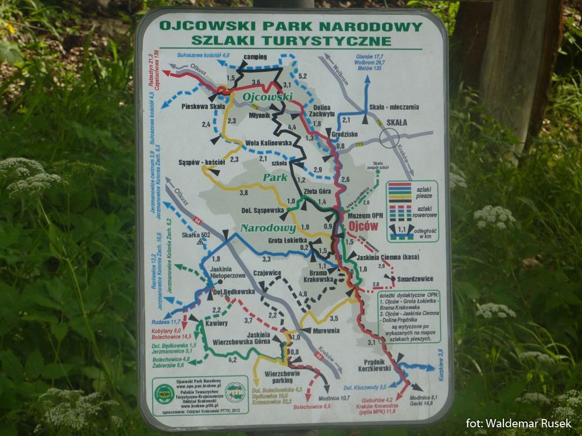 OPN mapa szlaków