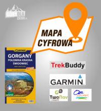 Gorgany 2013 mapa