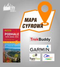 Podhale, Tatry, Spisz, Orawa 2020 mapa