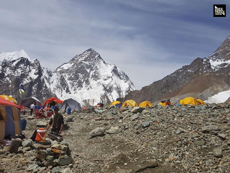 K2. Zdj. Łukasz Odzimek – Poza Trasą Adventure