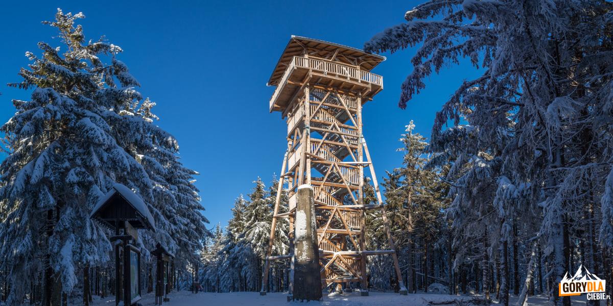 Wieża widokowa na Radziejowej