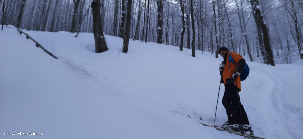 Mała Rawka na skiturach