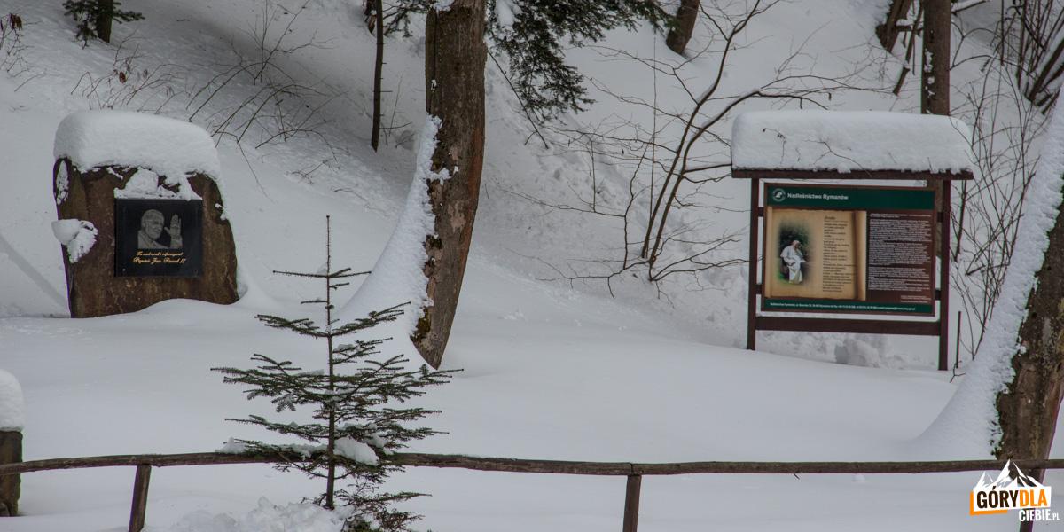 Rudawka Rymanowska - tablice poświęcone pamięci Jana Pawła II