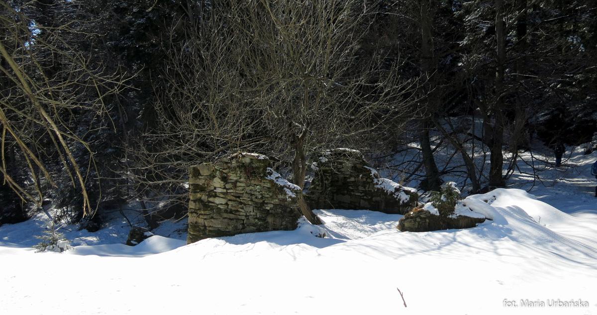 "Ruiny ""Szkoły nad Obłokami"""