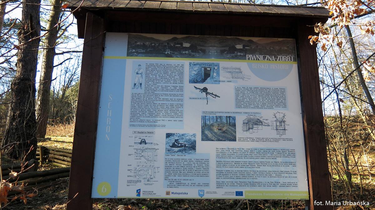 Tablice w Parku Węgielnik-Skałki