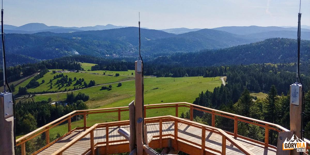 Wieża widokowa wKrynicy-Zdroju