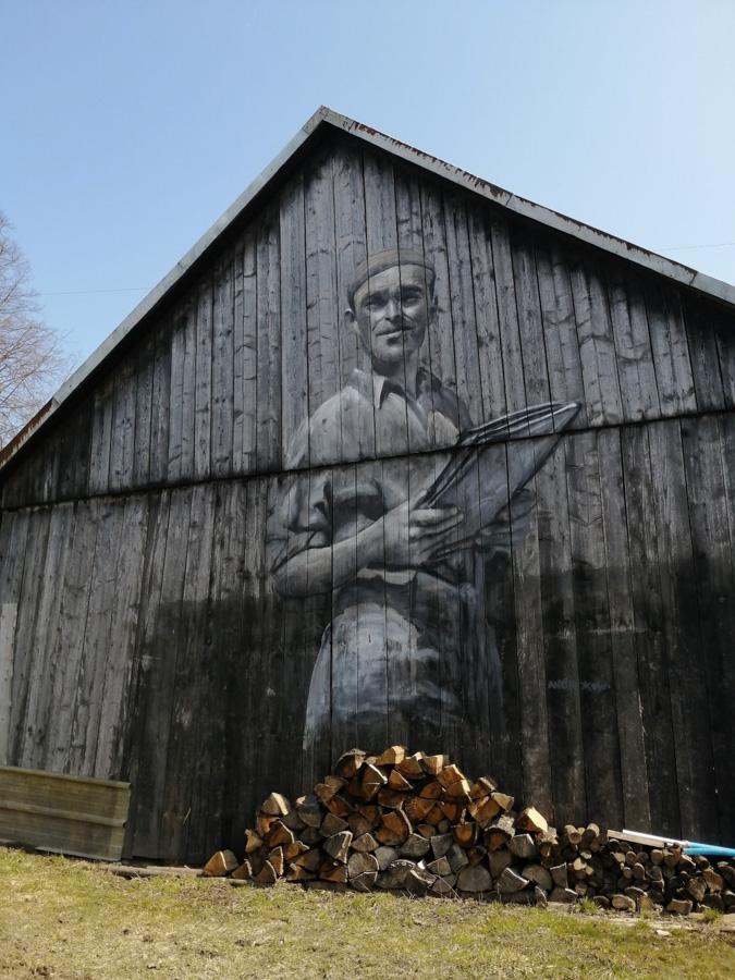 Mural w Bezmiechowej