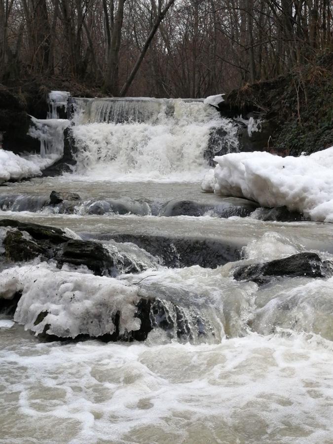 Wodospad w Dołżycy k. Komańczy