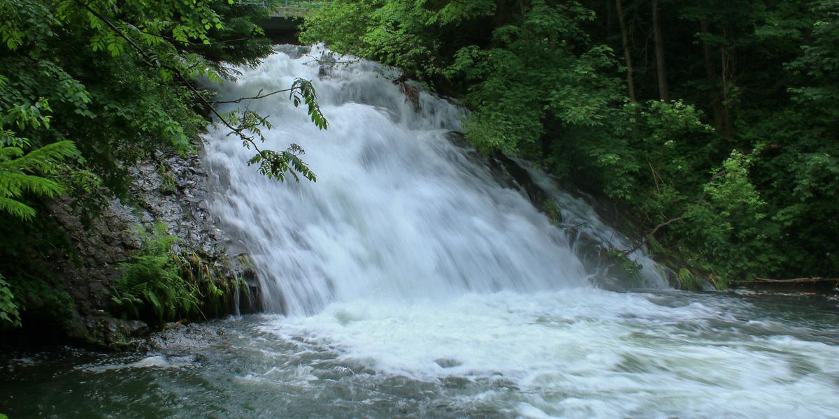Wodospad wSopotni Wielkiej