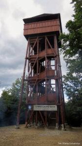 Wieża widokowa na górze Modyń (1029 m)