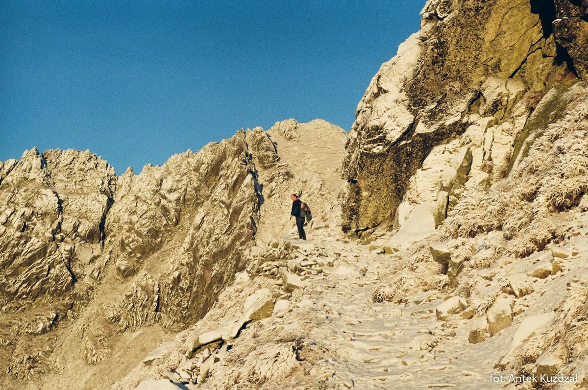 Ceprostrada na Szpiglasową Przełęczą
