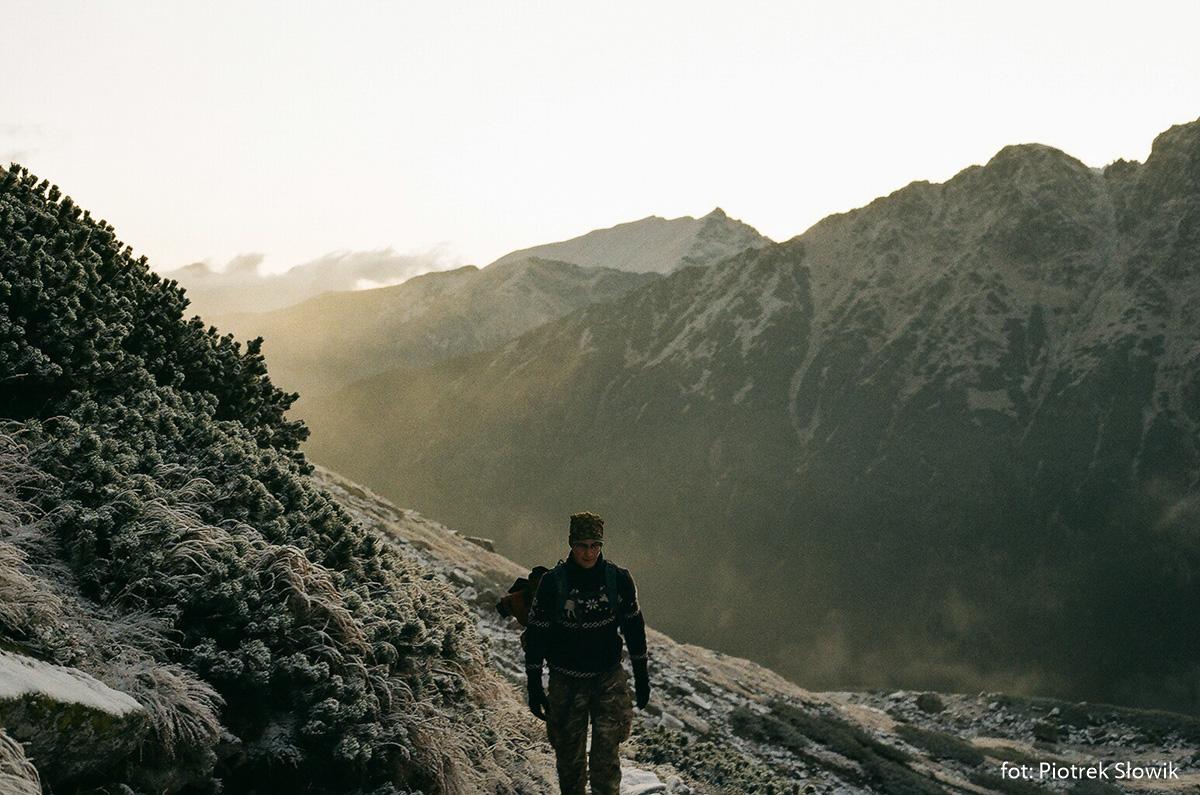 Podejście na Szpiglasową Przełęcz od strony Morskiego Oka