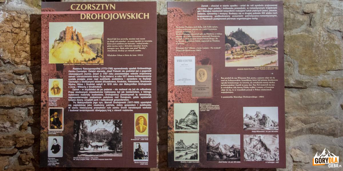 Zamek Czorsztyn